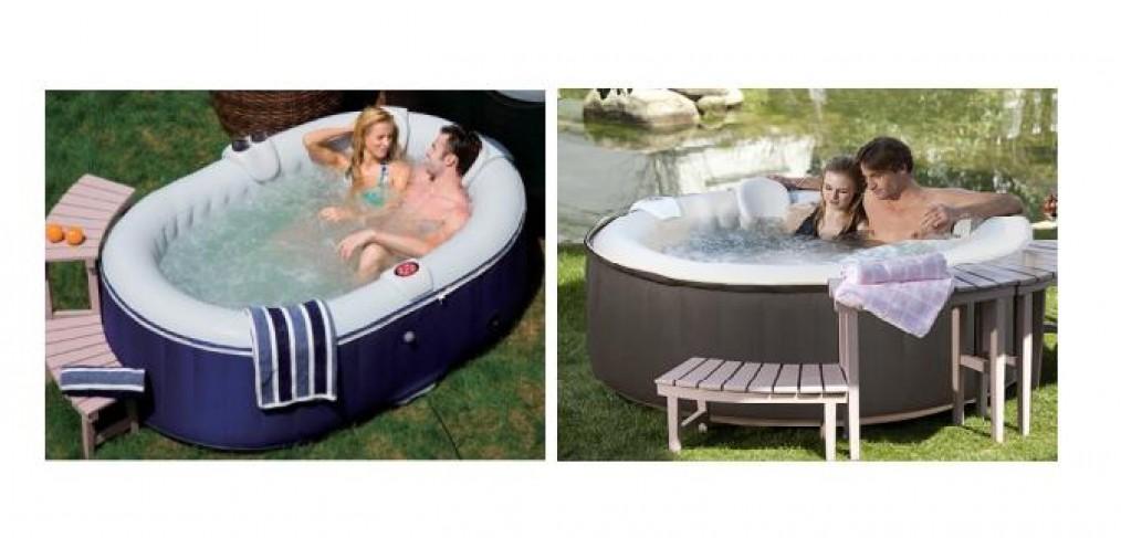 Spa gonflable leclerc matelas gonflable centrakor luxe for Aspirateur piscine leclerc