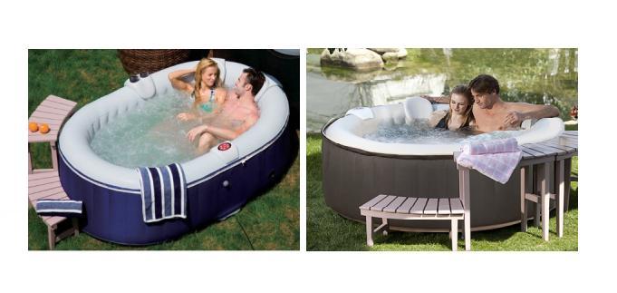 le spa gonflable offrez la baln o domicile idee cadeau original. Black Bedroom Furniture Sets. Home Design Ideas